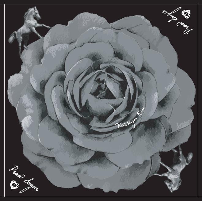 Vintage Rose - Black