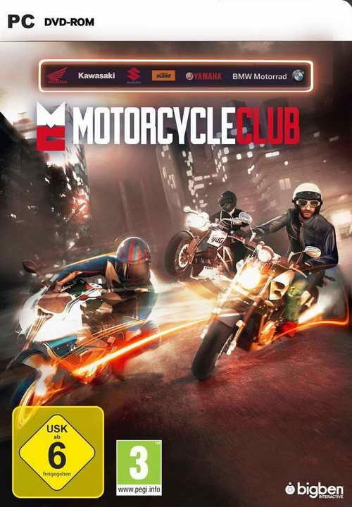 Motorcycle Club ( 1 DVD )