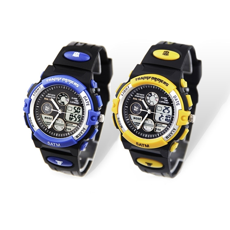 นาฬิกาดิจิตอล TRANSFORMERS (มีให้เลือก 2 แบบ)