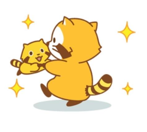 Happy * RASCAL Animated Stickers
