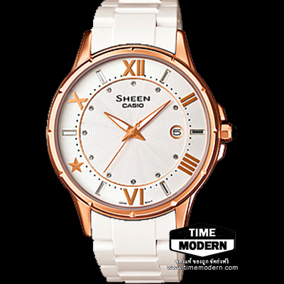 นาฬิกา Casio Sheen 3-hand analog รุ่น SHE-4024G-7ADR