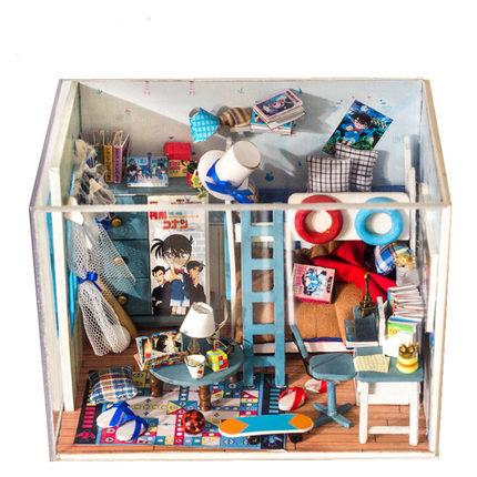 โมเดลห้องจำลองโคนัน Detective Conan(DIY)