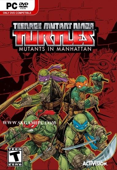 Teenage Mutant Ninja Turtles Mutants in Manhattan ( 2 DVD )