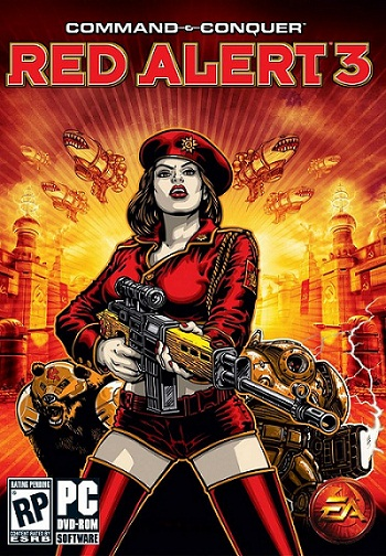 Command & Conquer Red Alert 3 - ภาษาไทย ( 2 DVD )