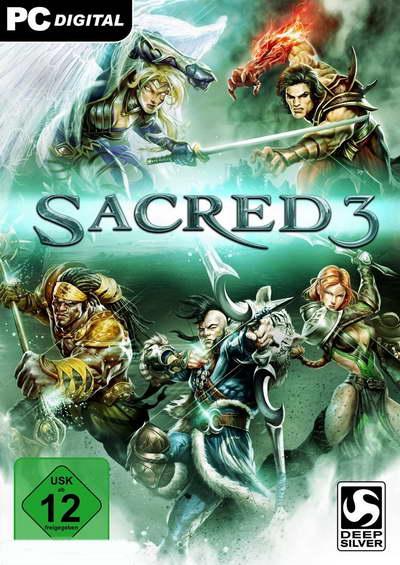 Sacred 3 ( 5 DVD )