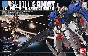 HGUC 1/144 23 S-Gundam 1800y