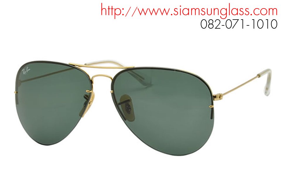 e71abec70a3 RayBan Aviator Flip Out RB3460 001 71 - แว่นตา Ray Ban แท้ ถูกที่สุดใน
