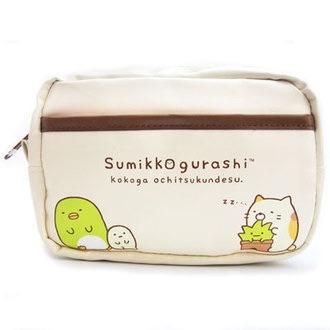 กระเป๋าใส่ของเดินทาง Sumikko Gurashi สีงา
