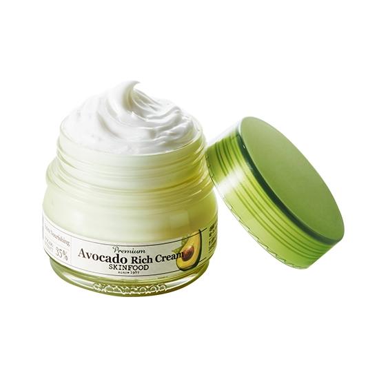 (Pre-order) Skinfood Premium Avocado Rich Cream 63 ml. ครีมบำรุงผิวหน้า สารสกัดจากอโวคาโด้