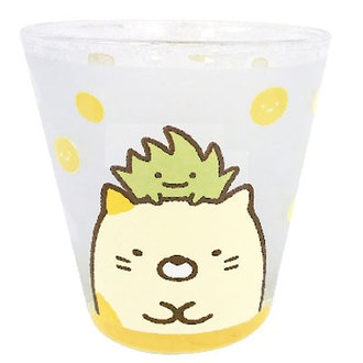 แก้วน้ำ Sumikko Gurashi (แมว)