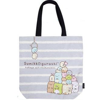 กระเป๋าสะพายไหล่ Sumikko Gurashi สีเทาขาว