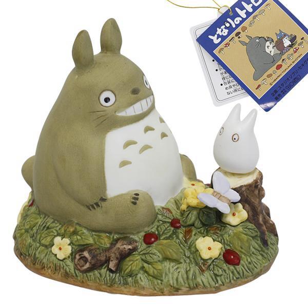 กล่องเพลงเซรามิก My Neighbor Totoro (โตโตโร่นั่งยิ้ม)