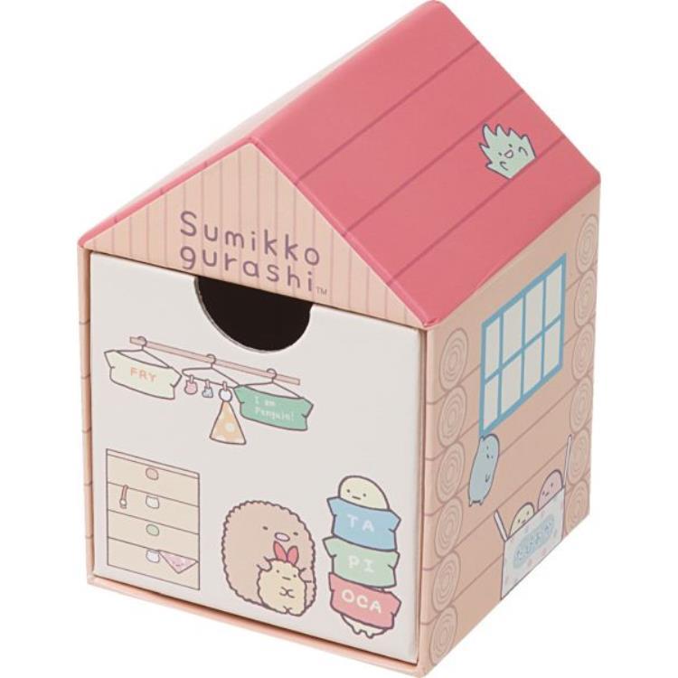 กล่องใส่ของ Sumikko Gurashi บ้านสีชมพู