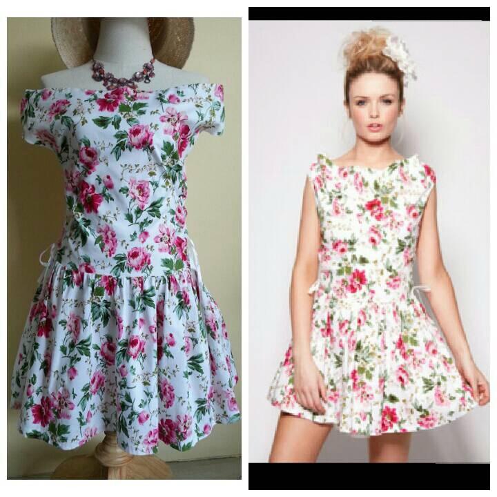 Boohoo Floral Dress Size UK10