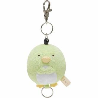 พวงกุญแจยืดได้ Sumikko Gurashi เพนกวิน