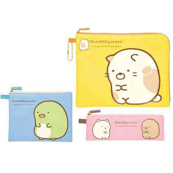 ชุดกระเป๋า Sumikko Gurashi 3 ใบ